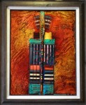 "Artist: Tony Abeyta (Navajo) ""Sacred Arrows"" Value: $4,800"