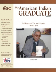 The American Indian Graduate Magazine Spring 2012