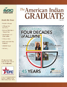 The American Indian Graduate Magazine Fall 2014