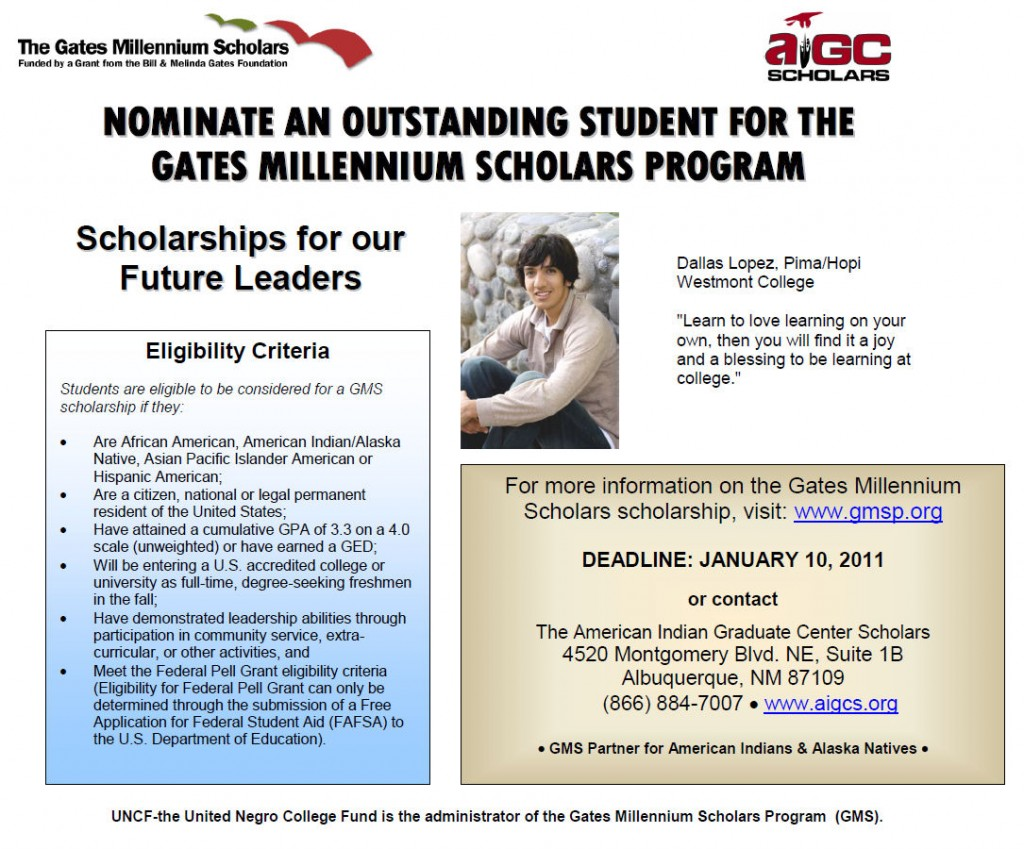 Nominate an Outstanding Student