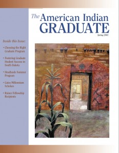 The American Indian Graduate Magazein Spring 2003