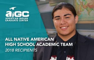 AIGC's All Native American High School Academic Team image