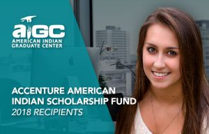 Accenture American Indian Scholarship Fund image