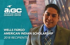 Wells Fargo American Indian Scholarship image